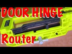 Ryobi A99HT2 Door Hinge Installation Kit / Mortiser Template | DIY ...
