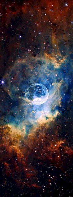La Nebulosa de la Burbuja.