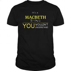 MACBETH - #gift for guys #love gift