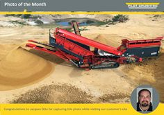 Photo of the month - Pilot Crushtec International Work Site, Pilot, Monster Trucks, Africa, Pilots, Afro, Remote