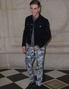 Gabriel-Kane Day Lewis au défilé Dior