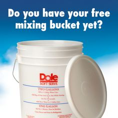 IFYA's summer promo: Get a FREE Dole starter kit (2 samples of mix, bucket & lid, wire whisk). Must be a member of the International Frozen Yogurt Association. Join the IFYA for free at internationalfrozenyogurt.com and learn more about the offer at http://internationalfrozenyogurt.com/news/special-summer-promotion-on-dole-soft-serve/ #DoleSoftServe #dairyfreesoftserve #sorbet #glutenfree #vegan #nondairy