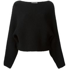 Alexander Wang Boat Neck Sweater found on Polyvore