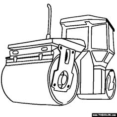 construction trucks coloring pages | crafts and kids | pinterest ... - Construction Trucks Coloring Pages