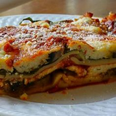 Weight Watchers Easy Lasagnas (7 Points) Recipe