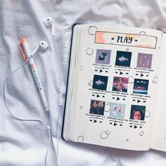What is your favorite song? Comment Below! What is your favorite song? Comment … What is your favorite song? Comment Below! What is your favorite song? Comment …,BuJo extras What is your favorite song? Bullet Journal Notebook, Bullet Journal School, Bullet Journal Spread, Bullet Journal Layout, Bullet Journal Inspiration, Journal Ideas, Bullet Journal Netflix, Bullet Journals, Bullet Journal Aesthetic