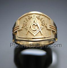 Inspired Jewelry by prolinedesigns Prince Hall Mason, Masonic Jewelry, Cigar Band, Man Jewelry, Jewellery, Freemasonry, Masons, Knights Templar, Metal Bar