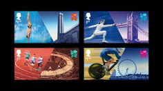 London 2012 Olympics Stamps...