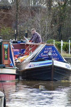 Narrowboat Mervyn Fuelboat Halsall