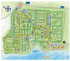 dit is de platengrond van de camping de schotsman je kan heer veel doen