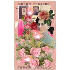 The Rose of the Odeon 08/06/2011 #postcard #collage
