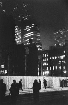 Madison Avenue, New York 1940s.  Photo: Louis Faurer.