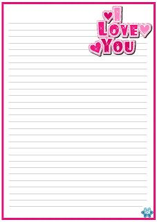 Printable Heart Template, Printable Lined Paper, Free Printable Stationery, Cool Writing, Writing Paper, Lined Paper For Kids, Journal Paper, Note Paper, Paper Decorations