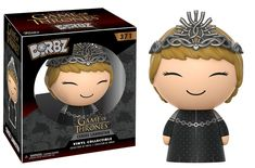 From Game of Thrones, Cersei, as a stylized Dorbz vinyl from Funko! Figure stands 3 inches and comes in a double sided window display box. Check out the other Game of Thrones figures from Funko! Game Of Thrones Figures, Game Of Thrones Jaime, Game Of Thrones Cersei, Funko Game Of Thrones, Pop Game Of Thrones, Cersei Lannister, Jaime Lannister, Madrid Barcelona, Red Dead Redemption