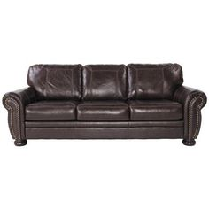 Show details for Banner Leather Sofa