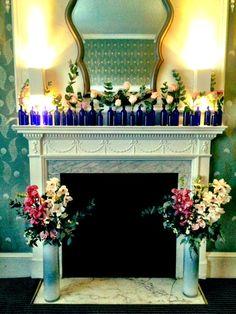 Beautiful blue bottles and roses #essentialoils #aromatherapy #relaxing #relaxation #stressrelief #nealsyard #nealsyardremedies