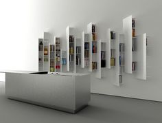 #Boffi CT Line shelving units and K2 kitchen