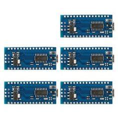 Amazon.com: XCSOURCE 5x V3.0 USB Nano ATmega328P 5V 16M Micro Controller Board Module for Arduino (TE359): Computers & Accessories