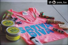 @josie_fox with @repostapp  The God's have smiled upon lady Josie and bought her a plethora of goodies. Lmao I'm so going to enjoy all of these. Thus far my favorite of all is the top! I love the tank top  one of my favorite shirts to wear at the moment. The round lighters from clippers rock!!!! I love it all. The candles smell really good and burns a while. So much good stuff everywhere. Again thanks to my boys the the fun toys! :) @the420industry @ta_images1  #weedporn #sativa #sativadiva…