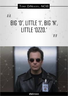 'NCIS': 14 hilariously memorable Tony DiNozzo quotes: Spelling his name, again