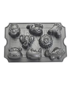 Take a look at this Nonstick Zoo Animal Muffin Pan by Nordic Ware on #zulily today!