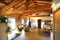 Maison bois plain pied