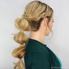 Best HairStyles For 2017/ 2018 - Braided Ponytail Ideas: 40 Cute Ponytails with Braids https://flashmode.me/beauty/hair/best-hairstyles-for-2017-2018-braided-ponytail-ideas-40-cute-ponytails-with-braids/ , #Hair