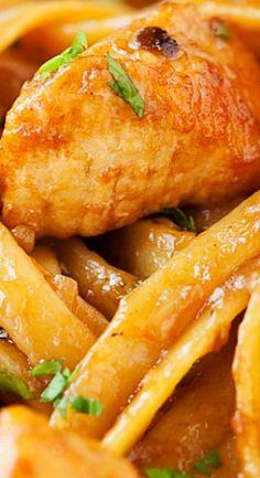Herbed Chicken Fettuccine