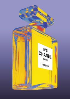 Chanel No 5 No5 No.5 Andy Warhol Print Poster - Pop Art, French, Vintage, Art Deco