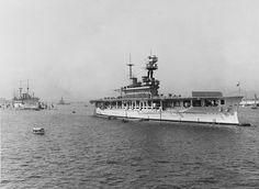 The aircraft carrier HMS Eagle in Hong Kong, 1930 (astern of her is the submarine depot ship HMS Medway). Ordered from Armstrong Whitworth in 1912 by Chile as the battleship Almirante Cochrane. Before completion she was purchased by the Admiralty and completed as an aircraft carrier & commissioned on 20/02/24. Spent much of interwar years in Far East. In WW II spent most of her time in the Mediterranean, was sunk by U-73 on 11/08/42, whilst escorting a Maltese convoy during Operation…