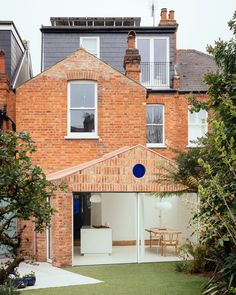 VATRAA adds brick-clad gabled extension to Victorian house in Camden.