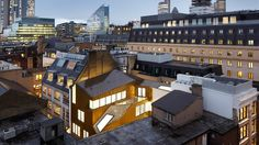 Two Tabernacle Street | Piercy&Company; Photo: Jack Hobhouse | Archinect