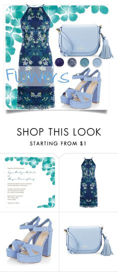 """""""Flowers #polyvore #flowers #serenity"""" by francesca-fashiongraphic on Polyvore featuring moda, Karen Millen, Kate Spade e Terre Mère"""