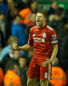 Steven Gerrard, next captain of the Three Lions...