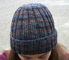 Ravelry: Ribbed Watchmans Hat pattern by Channah Koppel