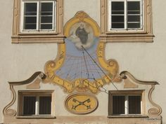 Sundial at St Peter's Archabbey in Salzburg   By Travelwriticus | April 9, 2011 | Sundials