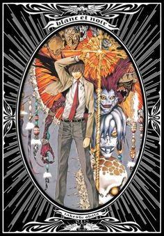 Takashi Obata Illustrations - Blanc et Noir /Japanese Anime Art Book Anime Art Books, Book Art, Death Note, Goodnight Punpun, Viz Media, Anime Kunst, Illustrations, Disney, Original Art