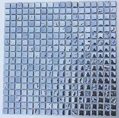 Lustrous MLG-1502 Black Mix 15x15mm TT