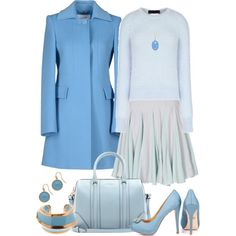 Casual Shades of Blue by angela-windsor on Polyvore featuring N°21, Blugirl, Reiss, Badgley Mischka, Givenchy, Marni, blues and CasualChic