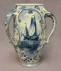 Royal Bonn Delft Vase