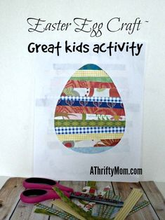 Easter egg craft ~ g
