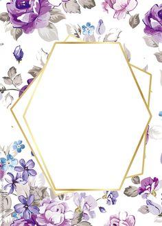 Invitation Background, Invitation Card Design, Floral Invitation, Invite, Flower Background Wallpaper, Flower Backgrounds, Free Printable Invitations Templates, Free Printables, Templates Free