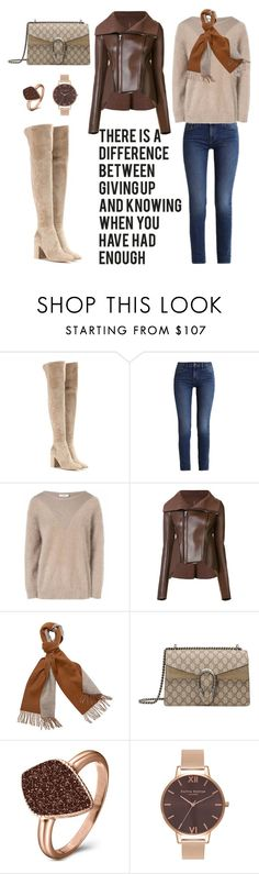 """""""Untitled #153"""" by joanna-tabakou ❤ liked on Polyvore featuring Gianvito Rossi, Calvin Klein, J.Lindeberg, Rick Owens Lilies, Gucci, H.Azeem and Olivia Burton"""