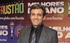 O ator Domingos Montagner, durante premiação dos 'Melhores do Ano' do Domingão…