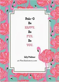 Lilly Pulitzer's 10 Rules of Party Crashing on the @FineStationery Blog