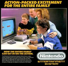 My grandma and I often played two player mario all the time.