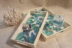 DIY Glass Tray