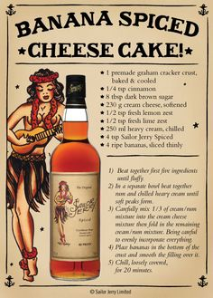 Banana Spiced Cheese Cake I'm going to make crust with GF Smoreables