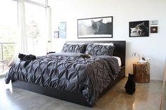 ikea malm bed (high) | Matt & Leah's Modern Menagerie