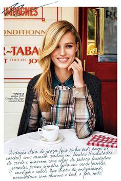 vontade do dia xadrez georgia jagger vogue Vontade do dia: camisa xadrez a la Georgia May Jagger Georgia May Jagger, Georgia Mae, Sweater Weather, Vogue, Summer Skin, Moda Fashion, Fashion Pics, Celebrity Beauty, Celebs